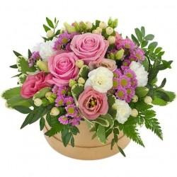 Flowerbox lila